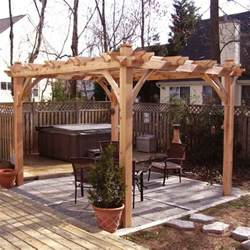 Rustic Pergola Kits by Gallery For Gt Cedar Log Pergola