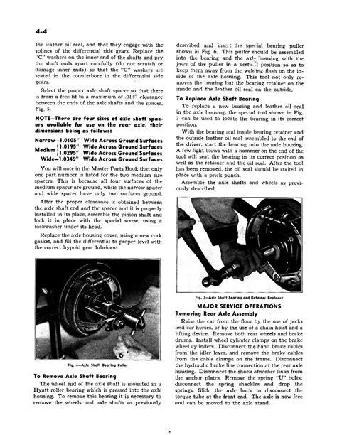 chevrolet shop manual 1942 chevrolet shop manual