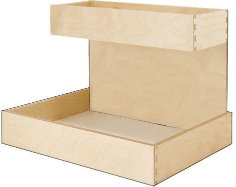 Spice Rack Risers Pullout Shelf Caddy Riser Custom Wood Pullout Shelf Riser