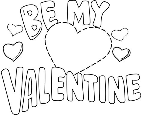 valentine coloring page for kindergarten free valentine coloring sheets for kindergarten