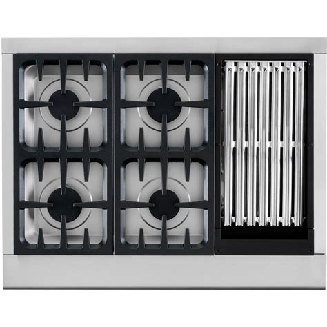 Cooktop Grill Dcs 36 Inch Professional 4 Burner Gas Cooktop With