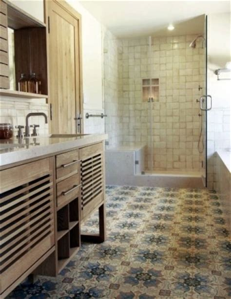 Spanish Tile Bathroom Ideas | spanish tile floor bathroom pinterest