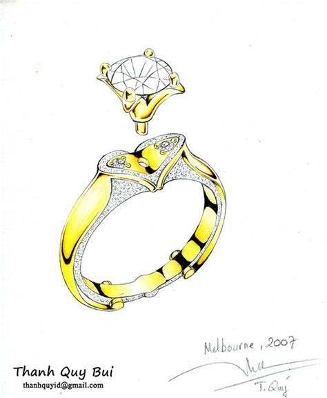 sketchbook ring 25 best ideas about ring sketch on jewelry
