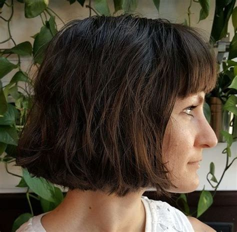 Blunt Bangs Hairstyles by 50 Spectacular Blunt Bob Hairstyles