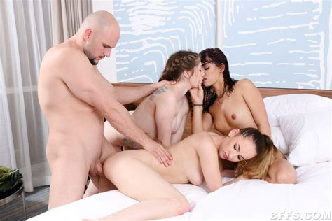 Four Bffs Share A Cock In Their Hotel Room Girls Do Xxx