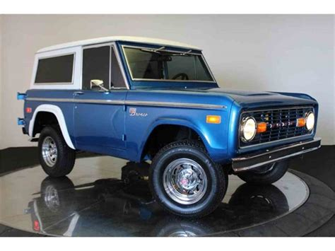 1970 Ford Bronco For Sale Classiccars Com Cc 1015503