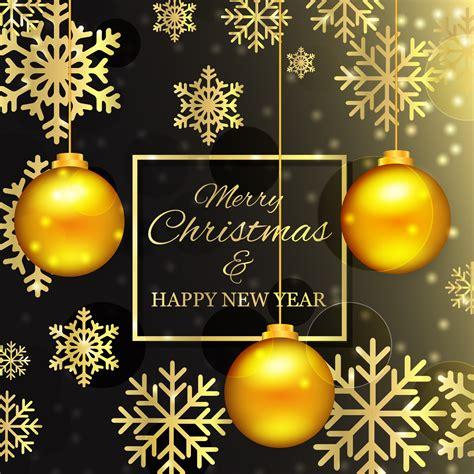 christmas background  golden balls   vectors clipart graphics vector art