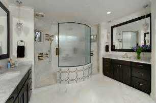 Bathrooms With Clawfoot Tubs Ideas master bath walk through shower amp separate vanities