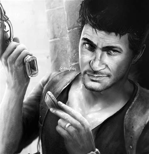 Uncharted 4 Sketches by Nathan Uncharted 4 By Shuploc On Deviantart