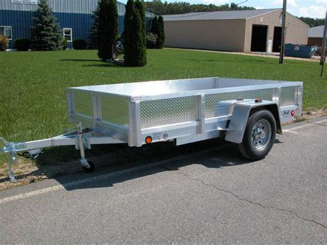 lightweight aluminum boat trailers aluminum utility trailer atp series aluminum deck w