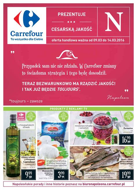 Ac Carrefour carrefour gazetka od 09 03 do 14 03 2016 by iulotka pl issuu