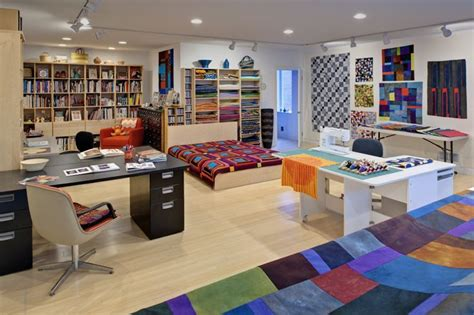 Quilting Studio Pictures by This Sewing Studio Looks As If You Could Practically Live