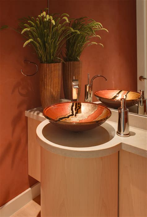 bathroom sink decor bathroom ideas contemporary powder room san