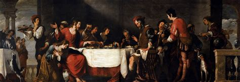 house of banquet banquet at the house of simon by strozzi bernardo