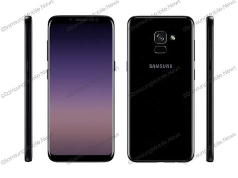Samsung A5 Plus 2018 samsung s galaxy a5 2018 and a7 2018 render leaks gizchina