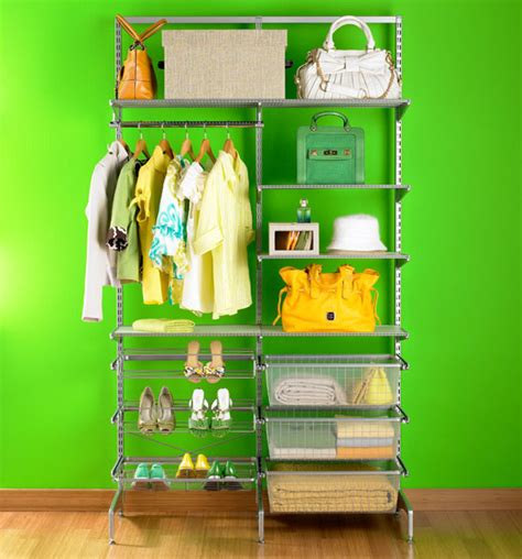 Elfa Freestanding Closet closet systems closet shelving closet solutions the