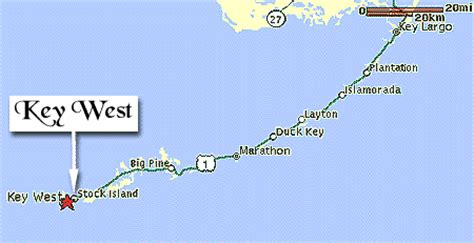 where is key west florida on the map map of key west in the florida from keysdirectory