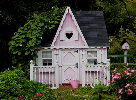 Pink Cottage Playhouse by Pink Cottage Dh And I Added This To Liven Up Our