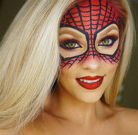 wondering how to make up give yourself a diy spiderman mask with this halloween