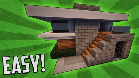 how to build a small modern house minecraft how to build a small modern house tutorial 4