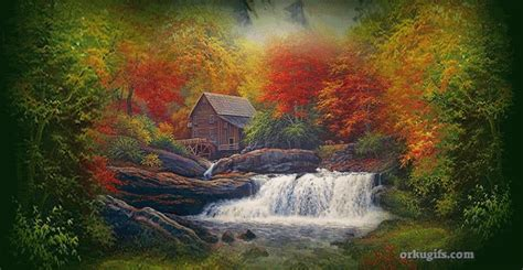 beautiful waterfall images  messages