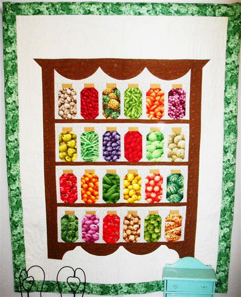 s pantry canning jar quilt pattern