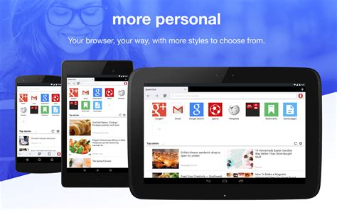 opera browser for android opera mini for android receives a major update introduces look and feel high dpi