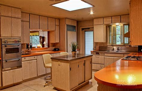 bleached wood kitchen cabinets impeccable 1972 time capsule house in san antonio 33