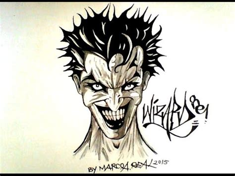 draw  joker   cool  halloween
