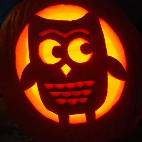 cute owl pumpkin 10 cute pumpkin carving patterns ideas