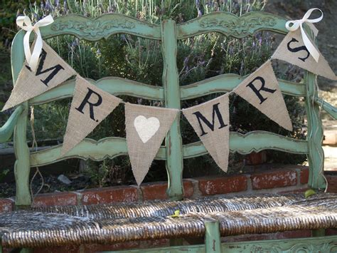 Wedding Banner Mr And Mrs by Mr Mrs Burlap Banner Wedding Banner By Butterflyabove