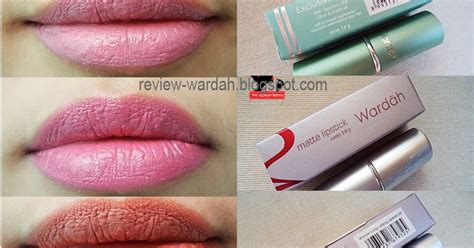 Bedak Wardah Vs Makeover Review Wardah Lipstick Matte Exclusive Longlasting