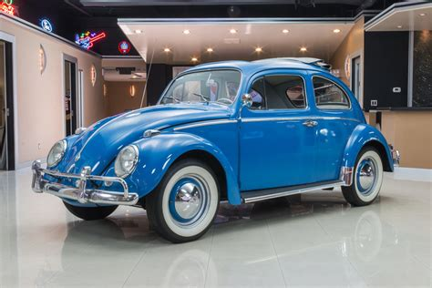 volkswagen beetle 1960 custom light blue 1960 volkswagen beetle for sale mcg marketplace