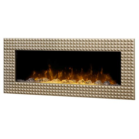 Electric Wall Mounted Fireplace Dimplex 43 Inch Ossington Linear Chagne Wall Mount Electric Fireplace Dwf36ag 1452cp