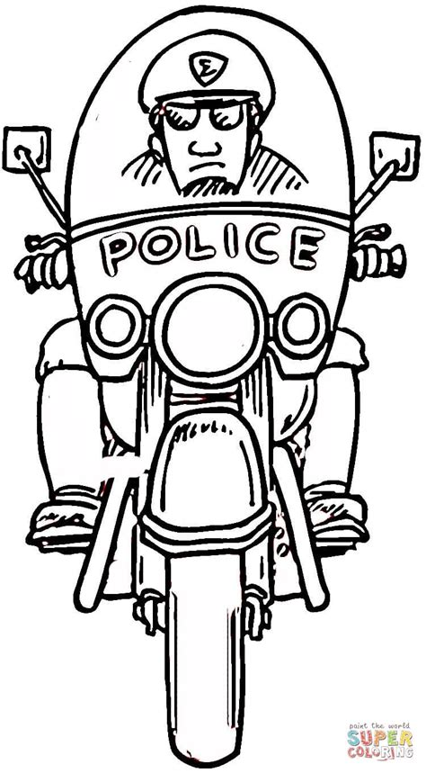 thank you coloring page for police officer police officer coloring online super coloring