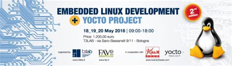 linux yocto tutorial embedded it sistemi embedded e real time in italia