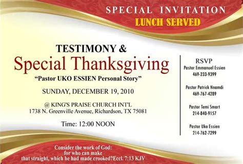 best 10 church invitation cardsfree download religious
