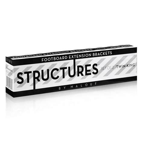 Bed Frame Footboard Extension Brackets Footboard Extension Brackets By Structures 174 Linenspa