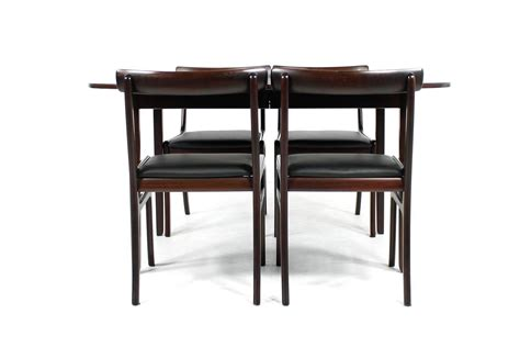 1960 Dining Room Furniture by 1960s Ole Wanscher Dining Room Set Quot Rungstedlund Quot Table