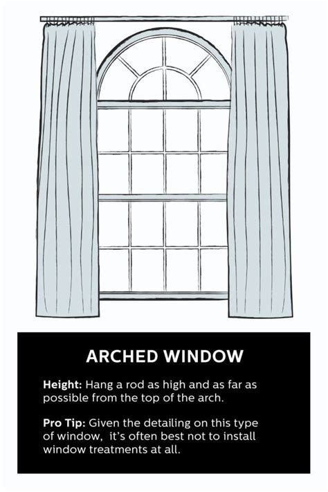 how to hang curtains on a round top window how to hang curtains 101 hang curtains window and arch