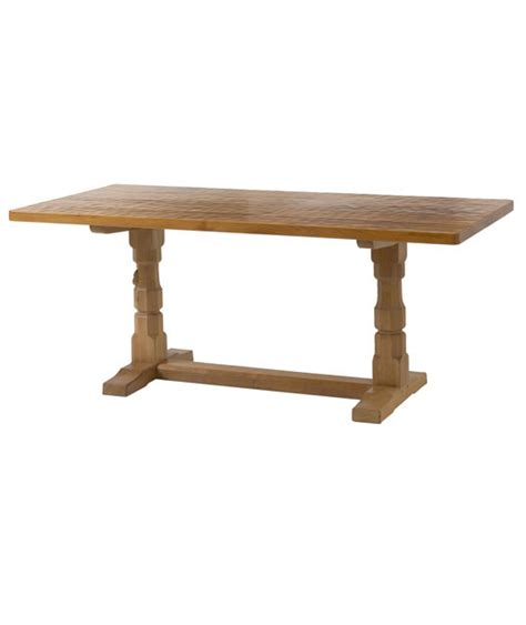 solid oak refectory dining table ta020 shop