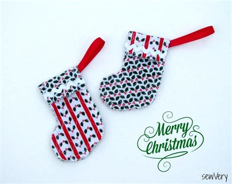 free sewing pattern christmas stocking ornament
