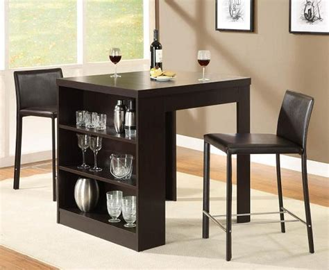 dining room table with storage small dining table with storage shelf home and interior design