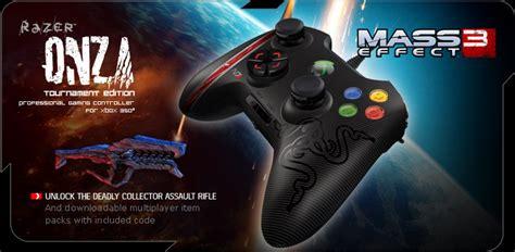 Razer Onza Mass Effect 3 mass effect 3 razer onza tournament edition
