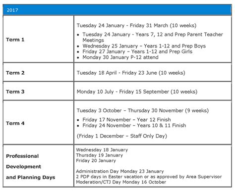 Oxford Mba Term Dates by School Times And Term Dates