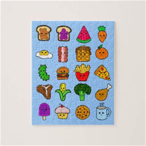 imagenes de kawaii de comida puzzles comida del kawaii zazzle es