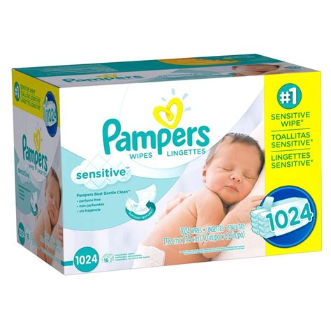 Keywords In A Search Are Not Sensitive Pers Sensitive Baby Wipes 1024 Ct No Sales Tax Ebay