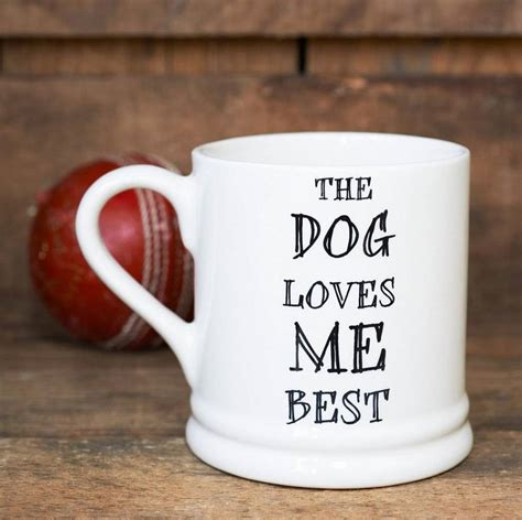 the best coffee mugs the dog or cat loves me best mug by sweet william