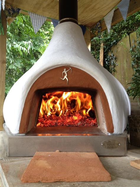 Clay Chiminea Pizza Oven Wood Fired Pizza Ovens Dome Homes Chimineas From Dingley