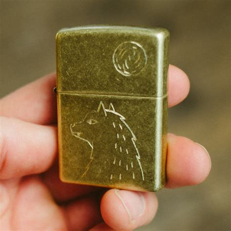 custom engraved brooke thompson lighter so that s cool